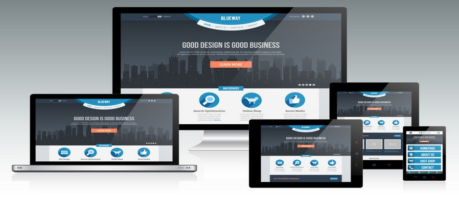 responsive mobile device websites
